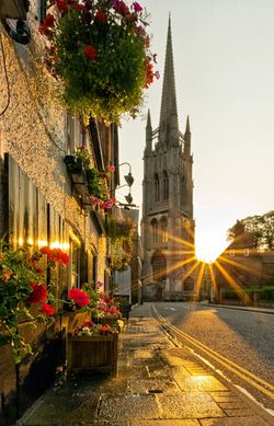 Louth, Morning Light In Spired