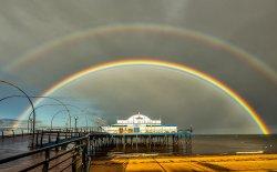 Cleethorpes Pier Rainbow