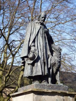Alfred, Lord Tennyson Statue, Lincoln Cathedral