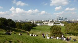 View of London from Observatory Hill, Greenwich