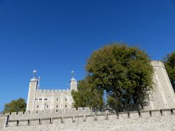 The White Tower and Wall Wallpaper