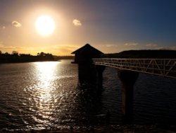 Cropston Reservoir.Cropston, Leicestershire. Wallpaper