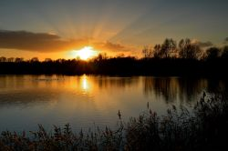 Watermead sunset, Syston, Leicestershire.