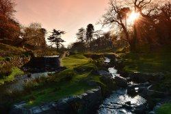 River Lin, Bradgate Park, Leicestershire.