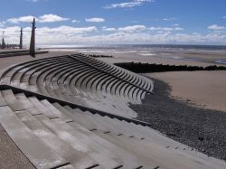 Art-Deco seafront at Cleveleys