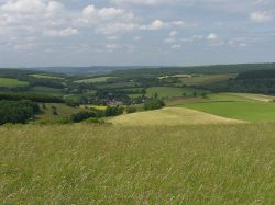 The South Downs of West Sussex,