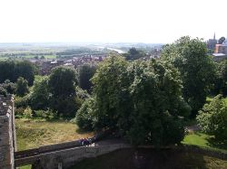 View from The Keep at Arundel Castle.
