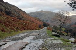 Track leading to the old Greenside Lead Mine, Glenridding