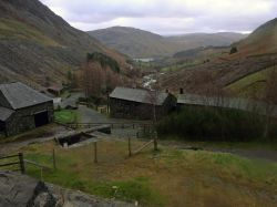 Old Lead mine buildings, Glenridding