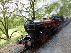 Ravenglass & Eskdale railway - River Mite
