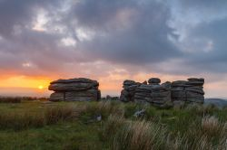 Combestone Tor - Dartmoor National Park