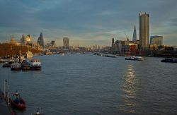 View of the City of London from Waterloo Bridge