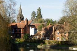 View of Whitchurch-on-Thames from the Toll Bridge