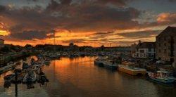 Sunset, Weymouth Marina
