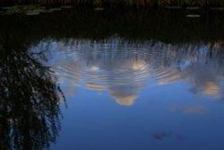 River Cherwell at Dusk, Nell Bridge near Aynho, Northamptonshire