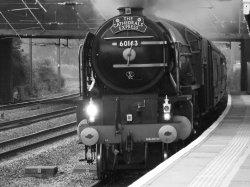 Tornado Steam Locomotive at Huntingdon