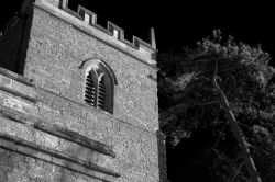 Moonlit Church, Helmdon, Northamptonshire
