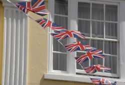 Bunting, Upton upon Severn, Worcestershire