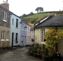 Small side street in Buckfastleigh
