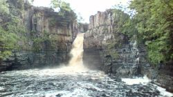 Don't get wet, High Force Waterfall