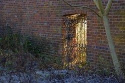 Garden Gate in Brough Park, Leek, Staffordshire
