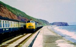Dawlish Warren Railway, Devon 1969
