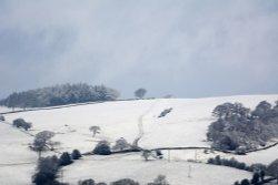 Gun Hill from Leek, Staffordshire