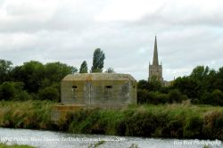 WW2 Pillbox, River Thames, Lechlade, Gloucestershire 2009