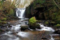 Edenfield waterfall dearden clough