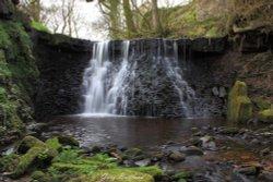 Cocker Lumb Falls, Oswaldtwistle, Lancashire