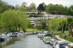 River Medway at East Farleigh Wallpaper