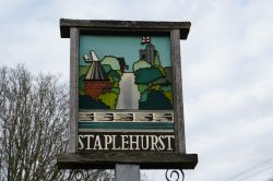 Staplehurst Village Sign