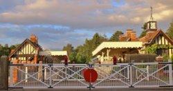 Late evening - Wolferton Restored Station