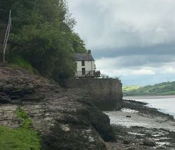 Dylan Thomas's Boathouse, Laugharne, Carnarthen