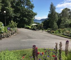 Lake Windermere from the grounds of Merewood Country House Hotel