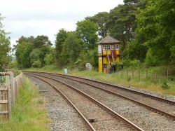 Armathwaite, Railway station, Cumbria