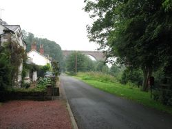 Wetheral, Viaduct, bottom road