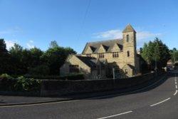 View from road Bridge, Wolsingham