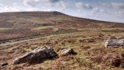 Widecombe, Rippon Tor, Dartmoor, Devon