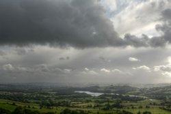 British Weather over Meerbrook, Staffordshire Moorlands