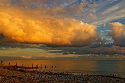 Spectacular Sundown, Worthing, West Sussex, England
