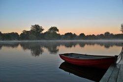 Hatfield forest rowing boat