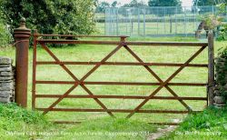 Old Farm Gate, Hollybush Farm, Acton Turville, Gloucestershire 2011