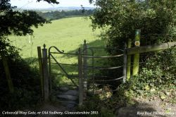Cotswold Way Gate, Old Sodbury, Gloucestershire 2011