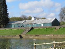 the boat house, Ruislip Lido (now demolished)