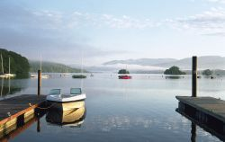 Bowness on Windermere at Dawn