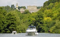 Cliveden from the River Thames