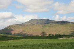 Blencathra Mountain in the Northern Fells, Lake District