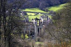 Rievaulx Abbey from the Terrace