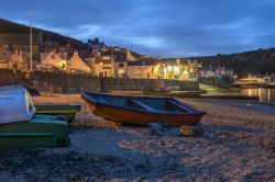 Staithes At Night